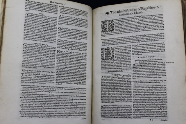 The Booke of Common Prayer, with the Psalter or Psalmes of David, Of that Translation which is appointed to be used in Churches.