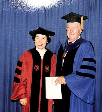 """Doctoral dissertation of Xin-Yu Li, An Inquiry into an Infraconnection of the Greater Chinese Economic Cooperation System, 1994, listing Richard L. Walker as, """"Chairman, Executive Committee."""""""