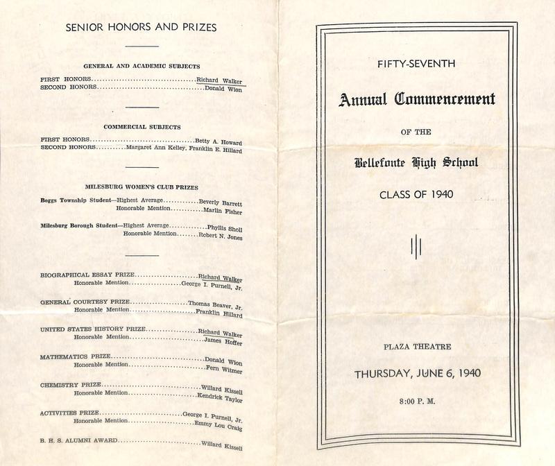 Commencement 1944