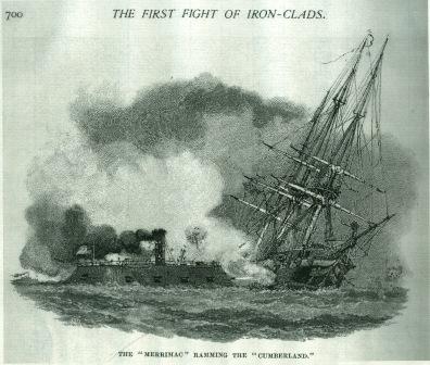 Image of USS Cumberland