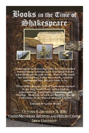 Books in the Time of Shakespeare Cover
