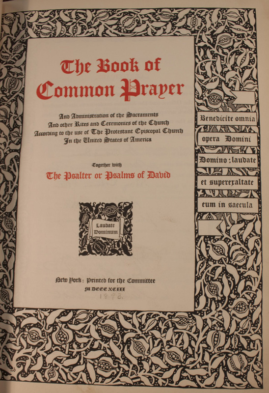 The Book of Common Prayer (1893)