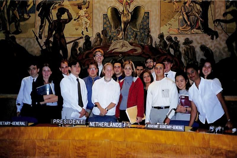 UN Semester Photograph, 1990s