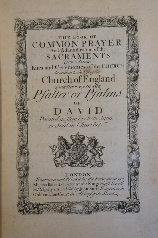 The Book of Common Prayer (1717)