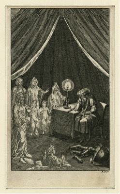 Act V, Scene 3 of Richard III from Nicholas Rowe's edition