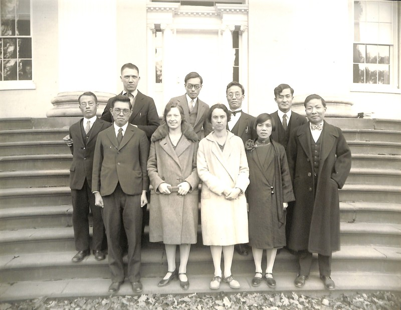 Photograph of International Seminarians, c. 1930