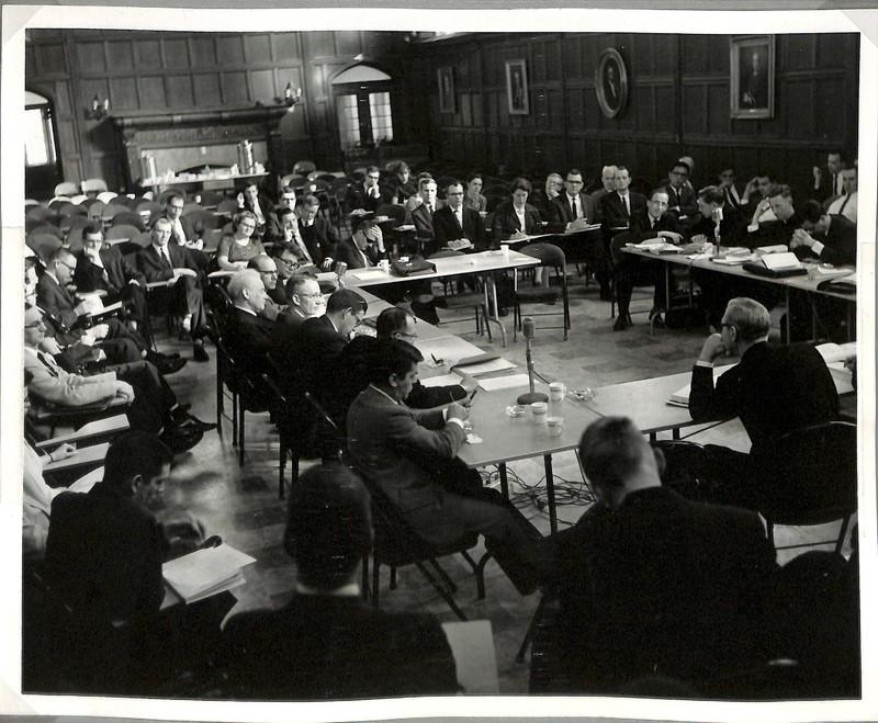 Photograph of 1964 Hermeneutics Consultation