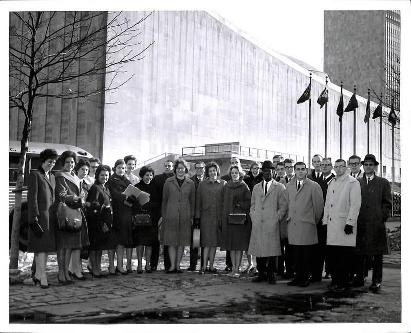 UN Semester Photograph, 1960