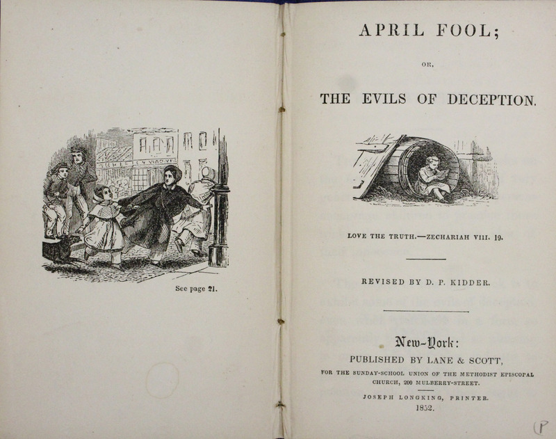 April Fool; or, The Evils of Deception