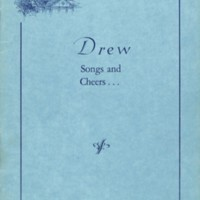 Drew Songs and Cheers book (2 copies