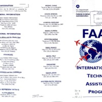 FAA International Technical Assistance Programs