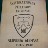 Report from the International Military Tribunal, 1945-1946