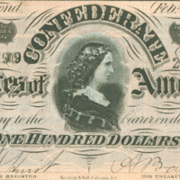 Confederate States of America Souvenir Currency