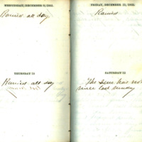 Diary entries of George A. Funkhouser, December 9-12, 1863
