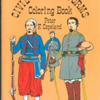 Civil War Uniforms:  Coloring Book