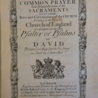 The Book of Common Prayer (1717)