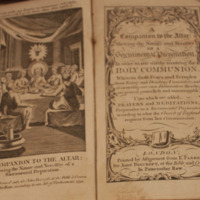 A Companion to the Altar (1756, 1770?)