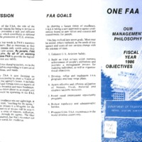 One FAA - Our management philosophy