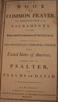 Book of Common Prayer (1795)