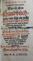 Enchiridion locorvm communium adversus Lutteranos... [Handbook of Commonplaces against the Lutherans...]