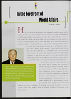 "Chapter authored by Richard L. Walker, ""In the Forefront of World Affairs,"" in Dynamic Korea, published by the Korean Information Service, May 2002."