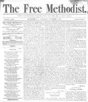 First issue of The Free Methodist