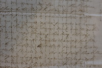 Jessie Hunter's Crosshatched Letter