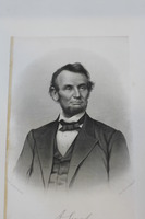 Portrait and Notation of Abraham Lincoln