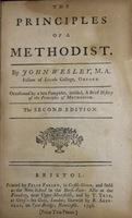 Principles of a Methodist
