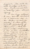 6 January 1865 Letter from James Strong to Rev. J.F. Chalfant